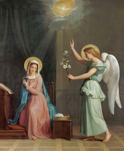 Câu chuyện Thiên Thần truyền tin cho Ðức Maria
