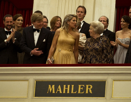 speech maxima 40 jaar Royaltea time: Máxima bedankt haar gasten met speech speech maxima 40 jaar