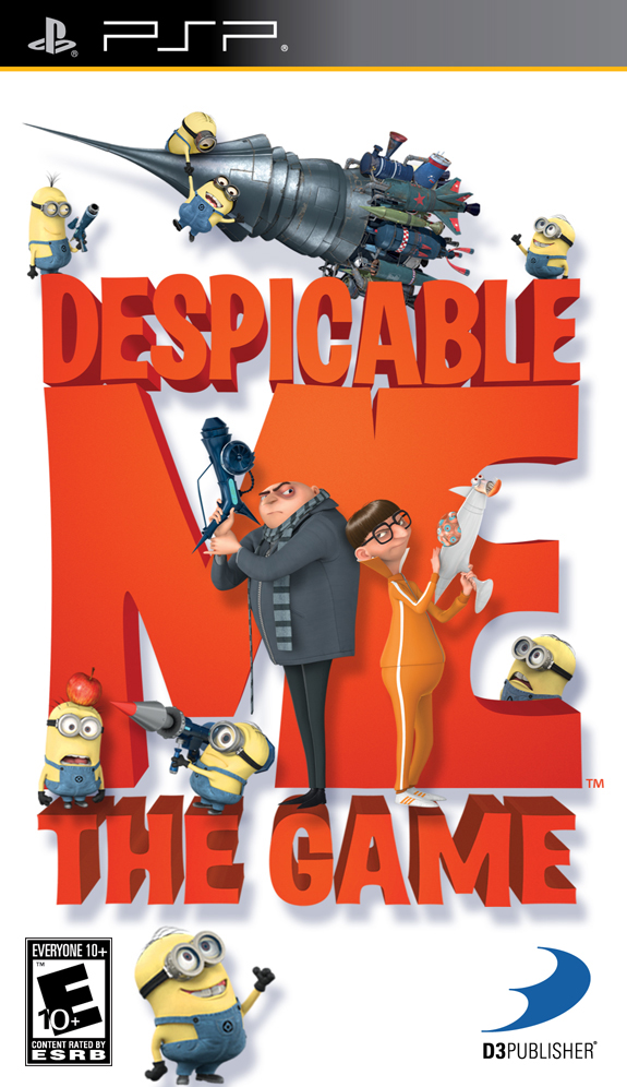 Despicable Me - PSP - ISO Download