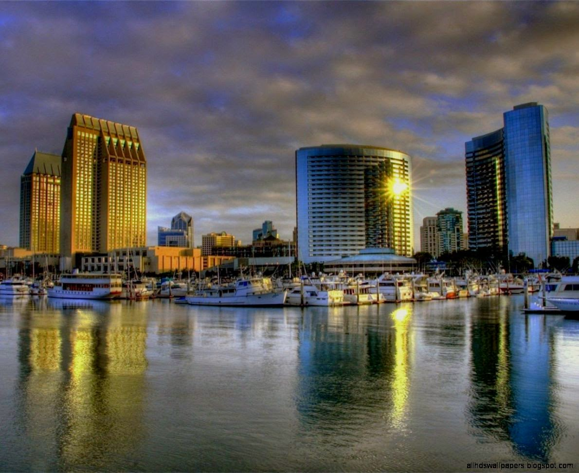 San Diego City Skyline Wallpaper Iphone