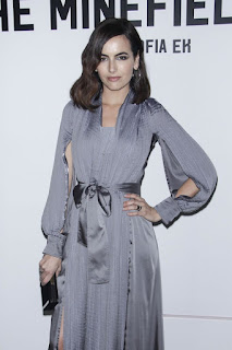 Camilla Belle at The Minefield Girl Audio Visual Book Launch In New York