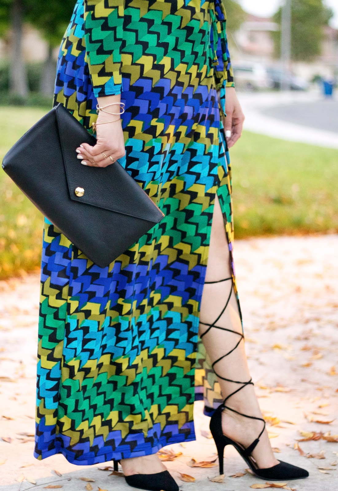 How to wear a maxi dress, lace up pumps, cool Maxi dresses, lace up heels, shoedazzle heels