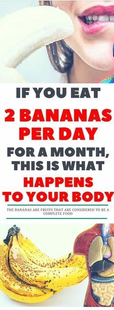 In Just A Month After You Start Eating Two Bananas A Day, Medical Condition Should Significantly Help To Improve