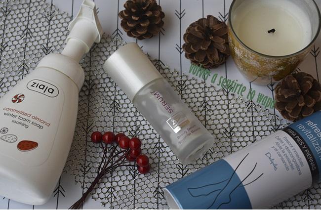 Favoritos de cosmética: Jabón de Ziaja + Sérum 7 de Boots + Spray para piernas cansadas de Mercadona + Velas de Mercadona