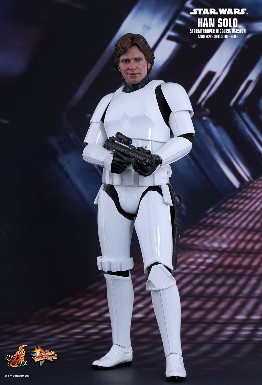EP. IV - UN NOUVEL ESPOIR - HAN SOLO (STORMTROOPER Disguise Version) 1
