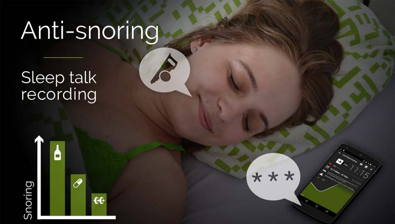 record sleep talking app