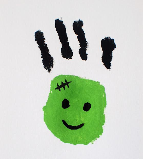 Halloween Frankenstein Craft Preschool