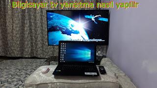 Bilgisayar Ekranı TV ye Kablosuz Yansıtma Çok Kolay