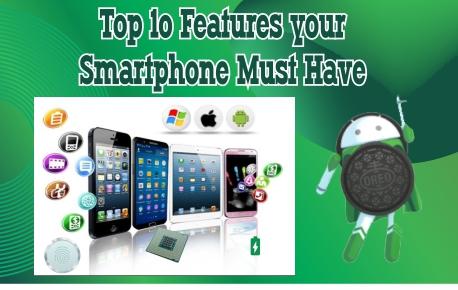 top smartphone features
