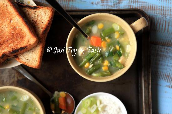 Resep Sup Krim Sayuran Instan JTT