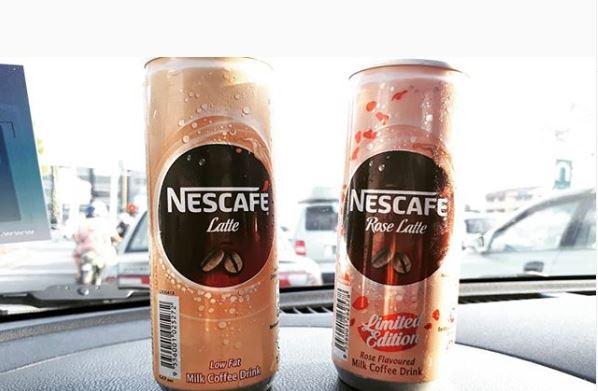 Dah Cuba Belum Nescafe Rose Latte Limited Edition?