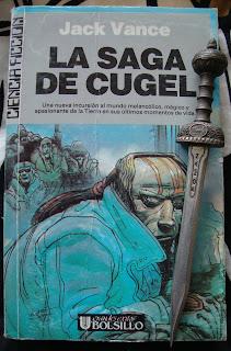 Portada del libro La saga de Cugel, de Jack Vance
