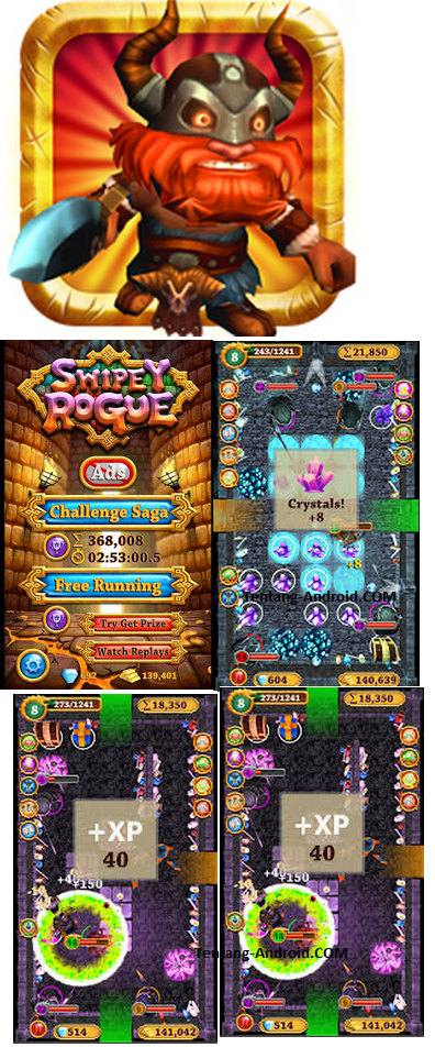 Swipey Rogue Mod Apk Unlimited Money + Gems Latest Version