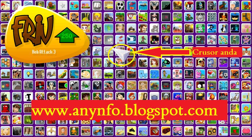 Friv com menu mob html games
