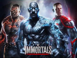 لعبة 3D حقيقية مسحوبة من نجوم المصارعة  wwe Immortals