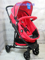 Kereta Bayi LightWeight Pliko BS798AL Baby2Go dengan Reversible Seat