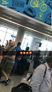 Davido got Pissed as he was stuck in the airport for 5hours