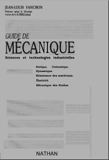 Télécharger Livre Gratuit Guide de Mécanique Sciences et Technologies Industrielles pdf