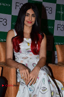 Bollywood Actress Adah Sharma Pos in White Printed Short Dress at OPPO F3 Plus Selfie Expert Mobile Launch .COM 0017.jpg