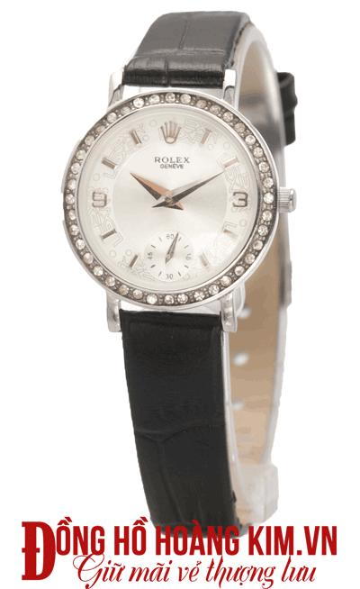 bán đồng hồ nữ dây da