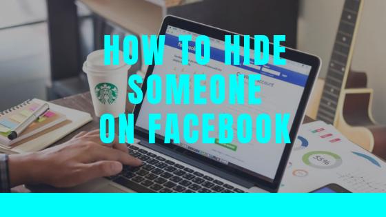 Hiding People On Facebook<br/>