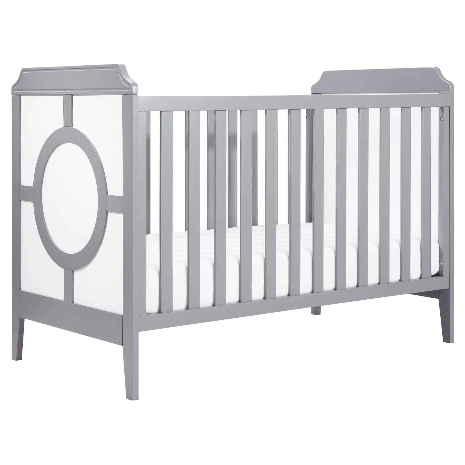 The Right-On Mom Vegan Mom Blog: Darling Pink and Grey Baby Room ...