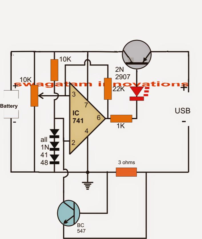 Secret Diagram  Battery Charger Circuit Diagram Auto Cut Off
