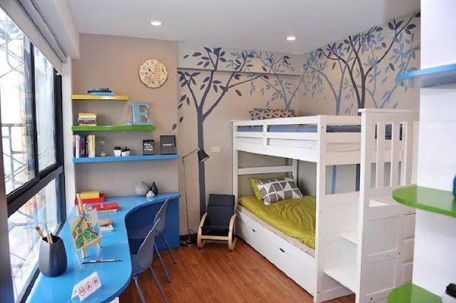 Phòng ngủ căn hộ Five Star (ảnh thực tế nhà mẫu)