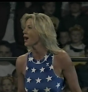 WCW UNCENSORED 1996 - Madusa faced Col. Parker in a Man vs. Woman match