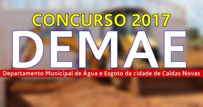Concurso DEMAE Caldas Novas 2017