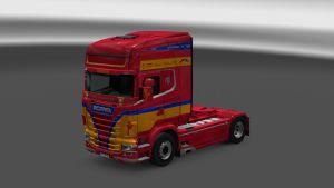 Siegfried Klappenecker Skin for Scania RJL