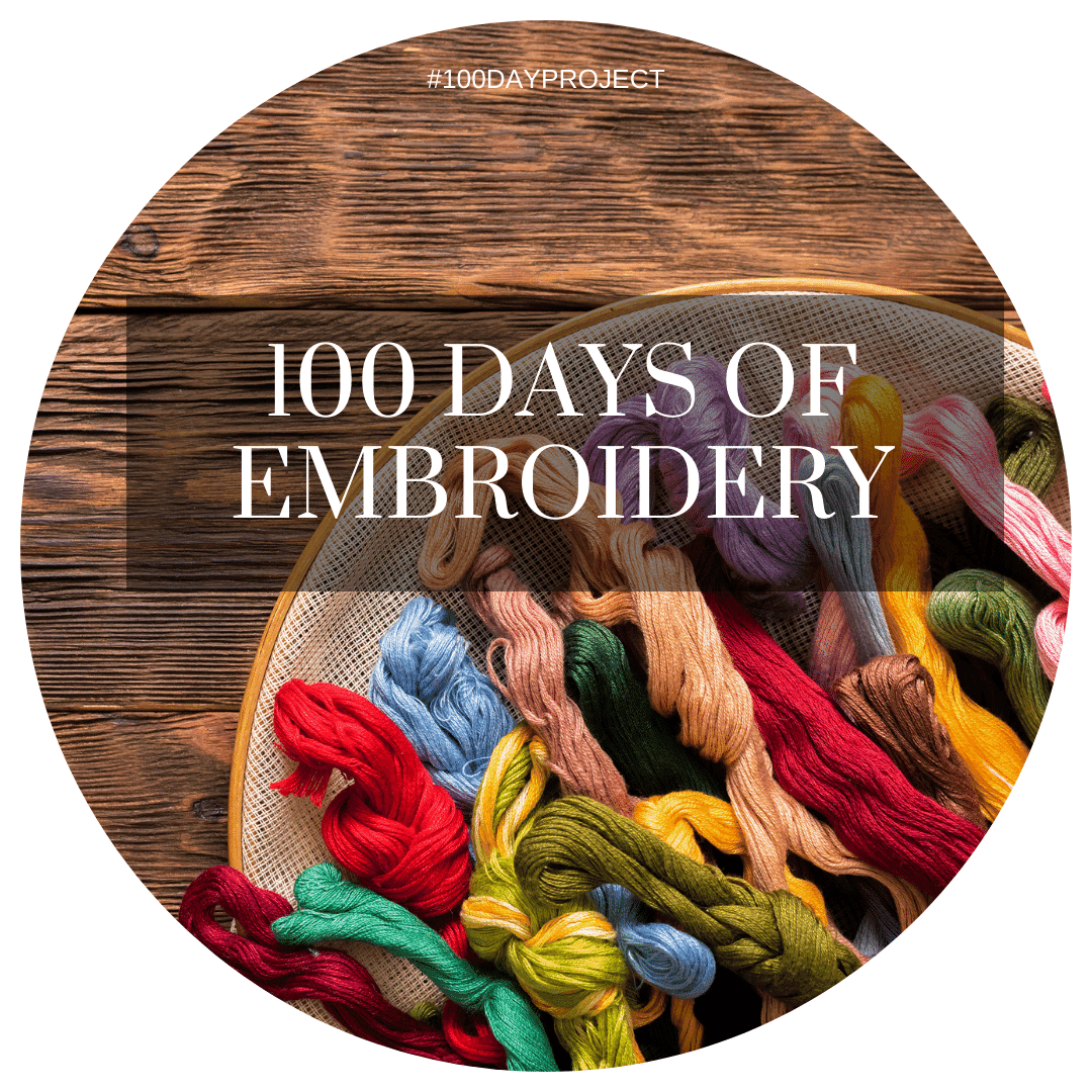 100 Days of Embroidery Stitches