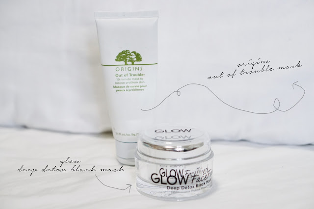 origins out of trouble mask glow detox mask