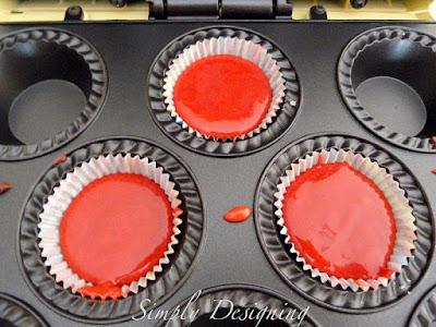 cupcakes+03 babycakes Cupcake Maker and Red Velvet Cupcakes 13