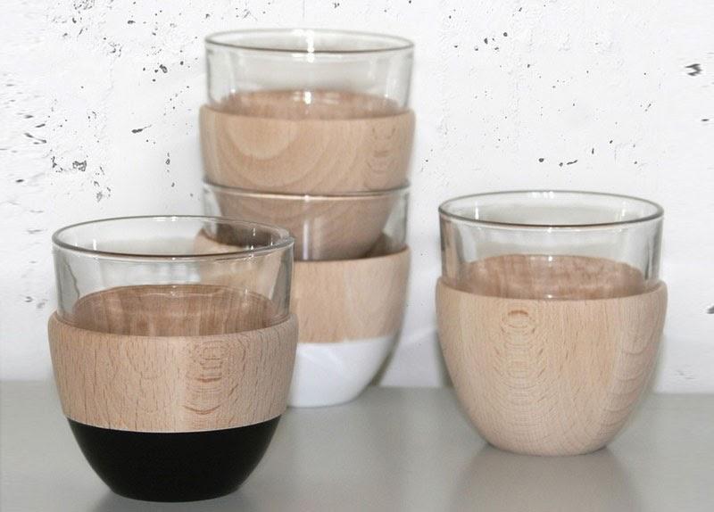 Vasos WOOD/WOOD/WOOD Cappuccino Cup de Ingibjörg Hanna