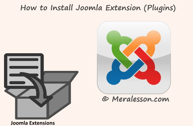 installing the plugins on joomla