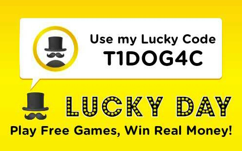 proof) How to earn real money and gift vouchers from Lucky day app