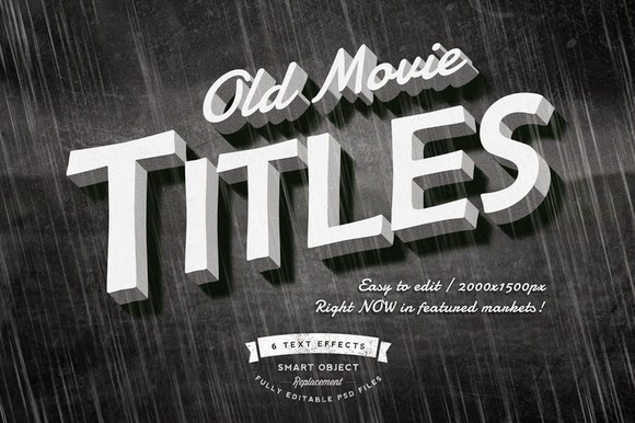 Download Old Movie Titles Free Download | Freebies PSD