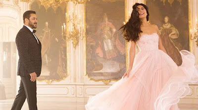 Salman Khan romancing Katrina Kaif in Tiger Zinda Hai