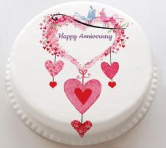 happy anniversary cake pictures