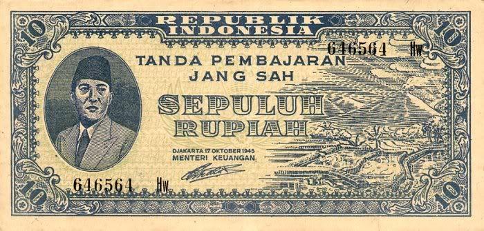 Oeang Repoeblik Indonesia