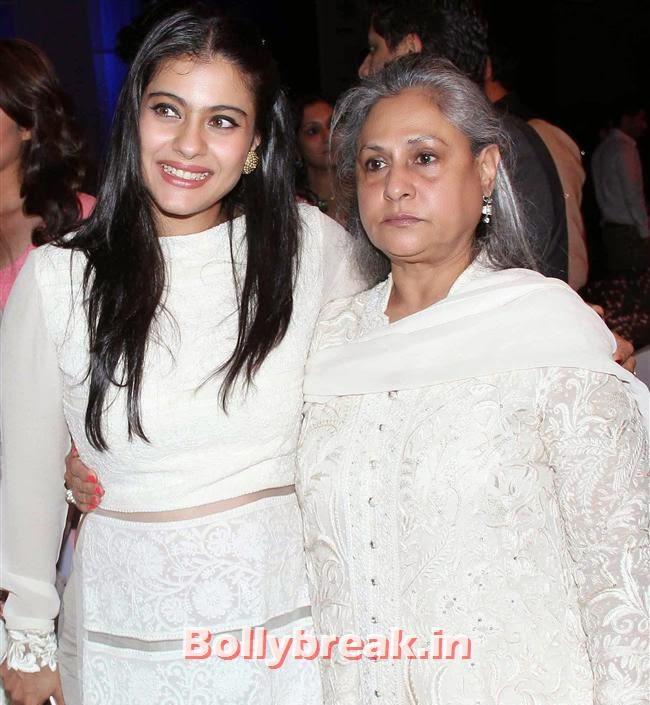 Kajol and Jaya Bachchan, Top Bollywood Celebs at Men For Mijwan Charity Fashion Show