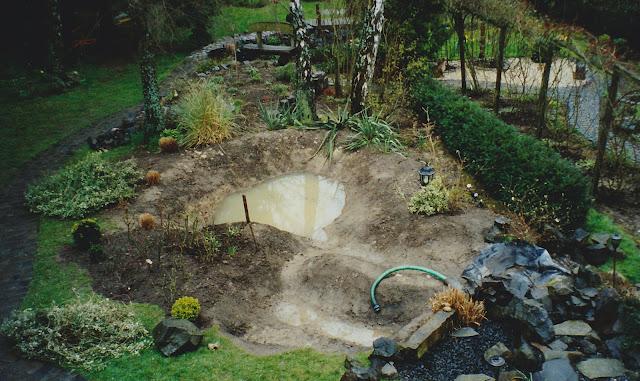 Der Gartenteich, Zwote