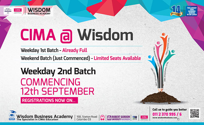 CIMA Certificate Level @WISDOM