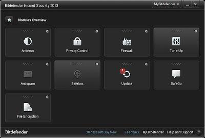 Bitdefender Internet Security 2013
