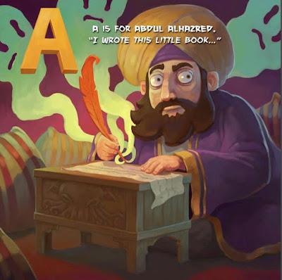 Meme de humor sobre el libro Necronomicón y Abdul Alhazred