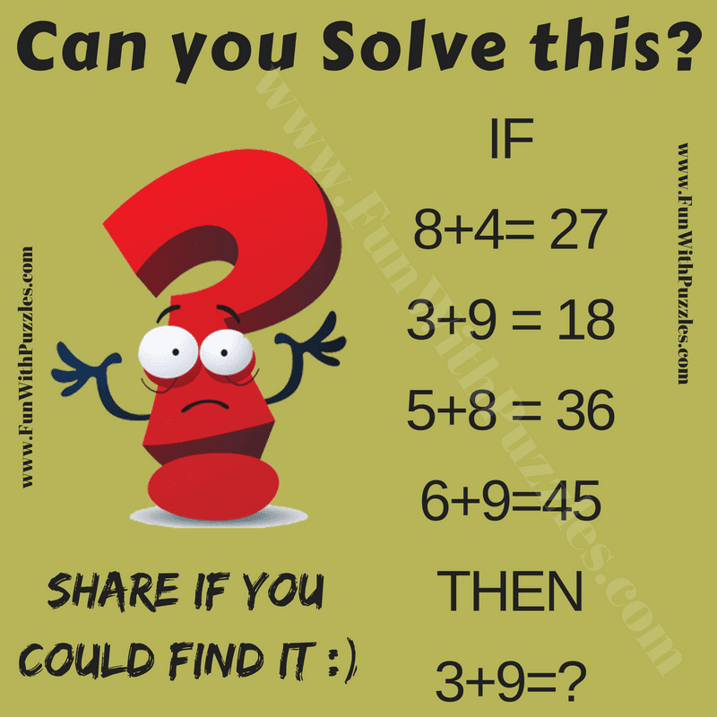 logical math equations and answers for kids fun with puzzles