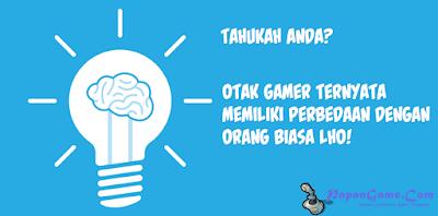 perbedaan otak gamer dengan orang biasa