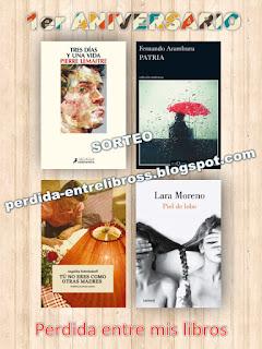 Sorteo Perdida entre mis libros