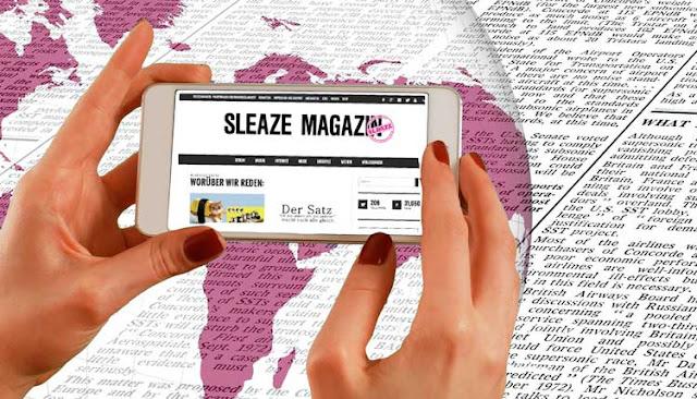 print oder online nachrichten zeitungssterben probeabo sleaze magazin